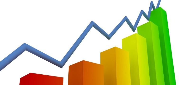 Gráfica de crecimiento de WordPress