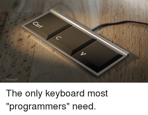 Teclado perfecto para un desarrollador