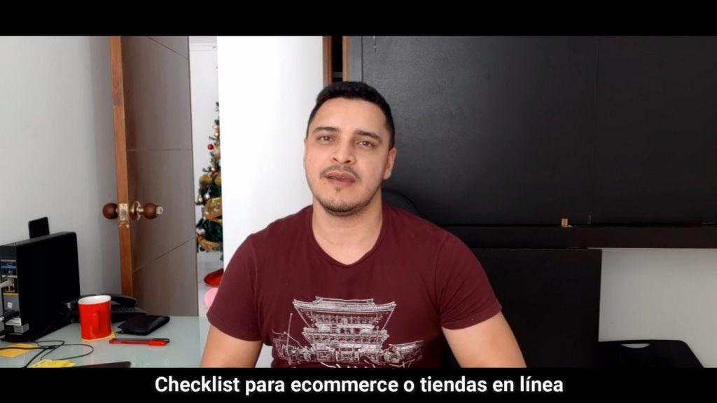 Checklist de las tiendas en linea